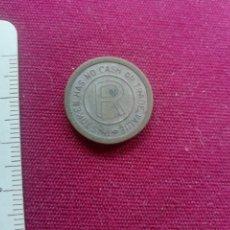 Monedas locales: FICHA. Lote 173004902