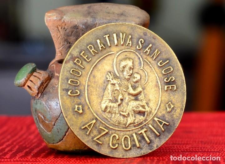 100 PESETAS COOPERATIVA SAN JOSE AZCOITIA (Numismática - España Modernas y Contemporáneas - Locales y Fichas Dinerarias y Comerciales)
