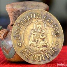 Monedas locales: 100 PESETAS COOPERATIVA SAN JOSE AZCOITIA. Lote 174356664