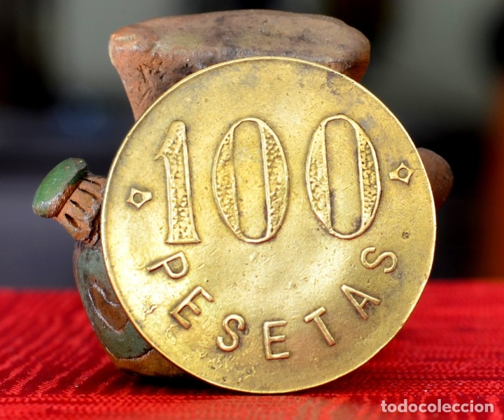 Monedas locales: 100 PESETAS COOPERATIVA SAN JOSE AZCOITIA - Foto 2 - 174356664