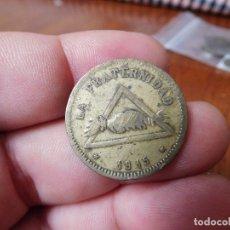 Monedas locales: 5 CÉNTIMOS COOPERATIVA LA FRATERNIDAD BARCELONETA AÑO 1915. Lote 174609034