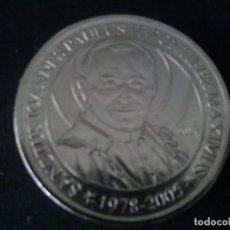Monedas locales: MONEDA-MADALLA PAPA JUAN PABLO II. Lote 175285772