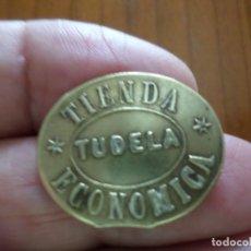Monedas locales: MONEDA DE CARIDAD TUDELA NAVARRA. Lote 176887220
