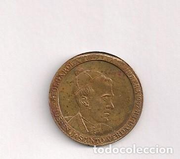 MEDALLA MONEDA JACINTO VERDAGUER (Numismática - España Modernas y Contemporáneas - Locales y Fichas Dinerarias y Comerciales)