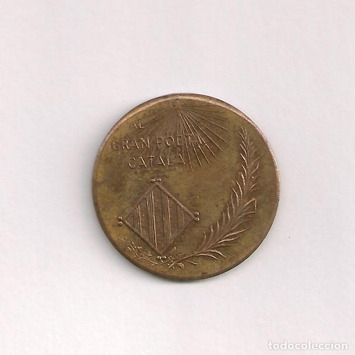 Monedas locales: Medalla moneda Jacinto Verdaguer - Foto 2 - 176948129