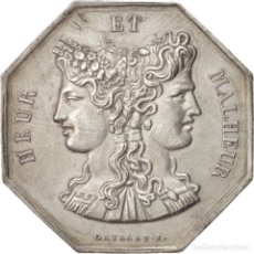 Monedas locales: MONEDA PLATA HEUR ET MALHEUR. Lote 176949377