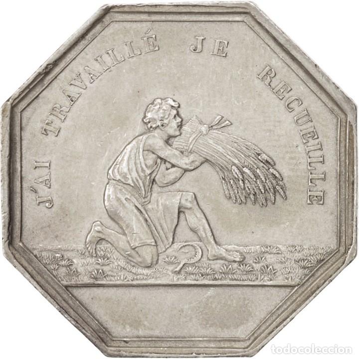 Monedas locales: MONEDA PLATA HEUR ET MALHEUR - Foto 2 - 176949377