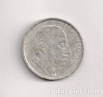 MEDALLA (MONEDA) CONMEMORATIVA ALFONSO XIII (Numismática - España Modernas y Contemporáneas - Locales y Fichas Dinerarias y Comerciales)