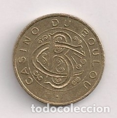 FICHA CASINO LE BOULOU (Numismática - España Modernas y Contemporáneas - Locales y Fichas Dinerarias y Comerciales)