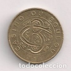 Monedas locales: FICHA CASINO LE BOULOU. Lote 177076768