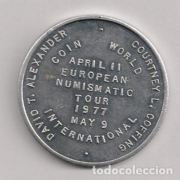 Monedas locales: MONEDA EUROPEAN NUMISMATIC TOUR 1977 - Foto 2 - 177081542