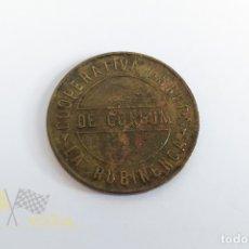 Monedas locales: MONEDA 5 CÉNTIMS - COOPERATIVA OBRERA DE CONSUM LA RUBINENCA - RUBÍ - 1933. Lote 178583473