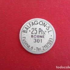 Monedas locales: BORNE. BALFAGON, SL. 25 PESETAS.. Lote 180098475