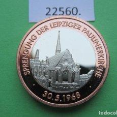 Monete locali: FICHA ALEMANIA MEDALLA, TOKEN, JETÓN, BIMETALICA. Lote 182023261