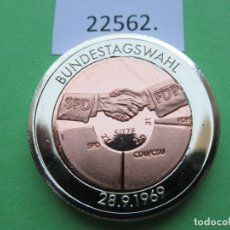 Monete locali: FICHA ALEMANIA MEDALLA, TOKEN, JETÓN, BIMETALICA. Lote 182023361