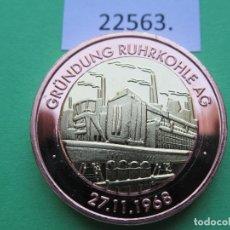 Monete locali: FICHA ALEMANIA MEDALLA, TOKEN, JETÓN, BIMETALICA. Lote 182023385