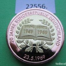 Monete locali: FICHA ALEMANIA MEDALLA, TOKEN, JETÓN, BIMETALICA. Lote 182023428