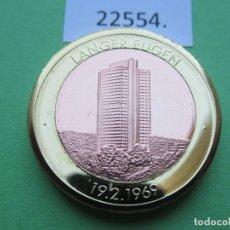 Monete locali: FICHA ALEMANIA MEDALLA, TOKEN, JETÓN, BIMETALICA. Lote 182023447
