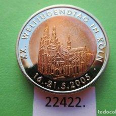 Monete locali: FICHA ALEMANIA MEDALLA, TOKEN, JETÓN, BIMETALICA. Lote 182224330