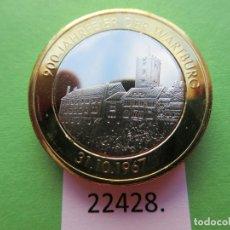 Monete locali: FICHA ALEMANIA MEDALLA, TOKEN, JETÓN, BIMETALICA. Lote 182224366