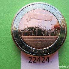 Monete locali: FICHA ALEMANIA MEDALLA, TOKEN, JETÓN, BIMETALICA. Lote 182224372