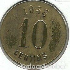 Monedas locales: (FCP-92)FICHA 10 CTS.COOPERATIVA L´AMISTAT(MONTGAT). Lote 182604596