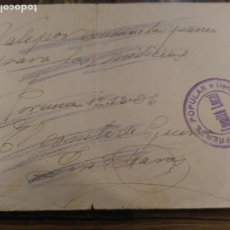 Monedas locales: VALE PANES. COMITE GUERRA CIVIL. PORCUNA. Lote 182687883