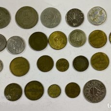 Monedas locales: LOTE DE 31 FICHAS TOKEN Y FICHAS DE CASINO . Lote 182842968