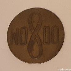 Monedas locales: ANTIGUA FICHA DEL NODO ASOCIACION SEVILLANA DE CARIDAD COCINAS ECONOMICAS. Lote 183048175