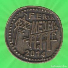 Monedas locales: 8 MARAVEDIES SOBRADO DE TRIVES FEIRA MEDIEVAL 2014 GALICIA OURENSE MONEDA FICHA XXX. Lote 183055070