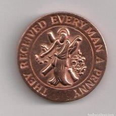 Monedas locales: FICHA MONEDA MASÓNICA. Lote 184011455