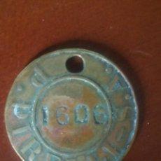 Monedas locales: FICHA/JETÓN/TOKEN.PRODUCTOS PIRELLI S.A. MANRRESA. Lote 184625153