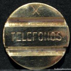 Monedas locales: ANTIGUA FICHA TELEFONICA ESPAÑA TELEFONO. Lote 167130300
