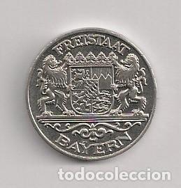 FICHA MONEDA DÍA DE LA UNIDAD ALEMANA (Numismática - España Modernas y Contemporáneas - Locales y Fichas Dinerarias y Comerciales)