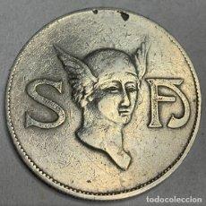 Monedas locales: MONEDA FICHA DE CASINO 5 PESETAS SOCIEDAD FOMENTO DE LAS ARTES (MADRID). Lote 189153751
