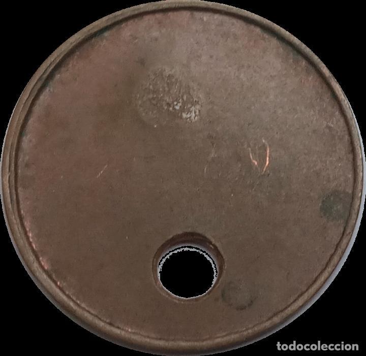 Monedas locales: 10 céntimos Unió Cooperativa Barcelonesa . Guerra Civil. Ficha Moneda xxx - Foto 2 - 190281186