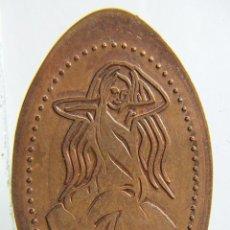 Monedas locales: MONEDA ELONGADA LORELEY. Lote 191430113