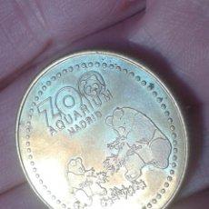 Monedas locales: FICHA TOKEN JETÓN TIPO MONEDA COIN O SIMIL A IDENTIFICAR ZOO AQUARIUM MADRID ZOOLÓGICO VER FOTOS..... Lote 192953466