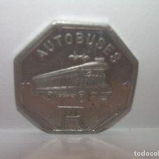 Monedas locales: FICHA DINERARIA DE ALUMINIO....AUTOBUSES..R...15 C.. Lote 192985738