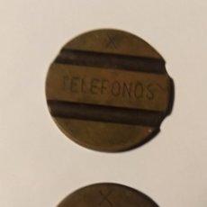 Monedas locales: LOTE 2 FICHAS DE TELEFONO DE ESPAÑA. Lote 193836198
