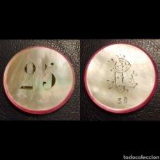 Monedas locales: FICHA 25 NACAR. Lote 194378850