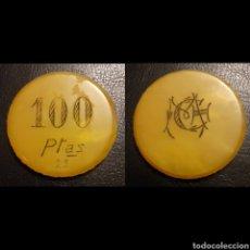 Monedas locales: FICHA CASINO 100 PTS.. Lote 194574460