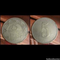 Monedas locales: FICHA CASINO 5 PTS.. Lote 194575747