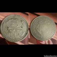 Monedas locales: FICHA 5 PTS CASINO. Lote 194577692