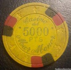 Monedas locales: FICHA CASINO DEL MAR MENOR. Lote 194655103