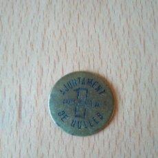 Monedas locales: PRECIOSA MONEDA 1 PESSETA AJUNTAMENT DE NULLES TARRAGONA GUERRA CIVIL ESPAÑOLA. PESETA. ESPAÑA VER. Lote 194669010