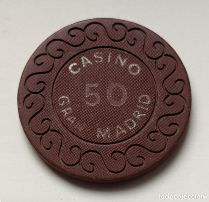 Monedas locales: ## Ficha 50 Casino Gran Madrid ## - Foto 2 - 194712142