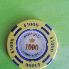 Monedas locales: FICHA DE POKER MUY BONITA. Lote 194903686