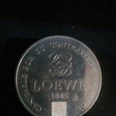 Monedas locales: FICHA LOEWE 100 EUROS FNMT DIÁMETRO 42 MM. Lote 194910680