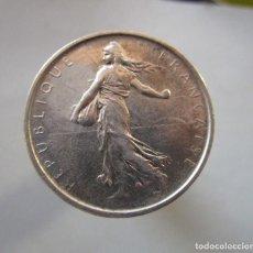 Monedas locales: FRANCIA . 5 FRANCOS DE PLATA ANTIGUOS . 1964. Lote 194911372